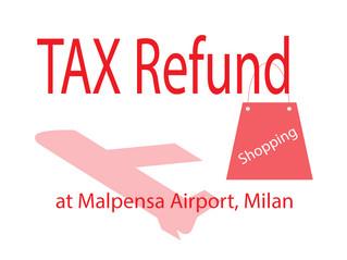 Tax Refund ที่สนามบิน Malpensa , Milan