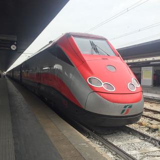 รีวิว ซื้อตั๋ว+เดินทางโดยรถไฟในอิตาลี