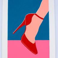 Le soulier rouge