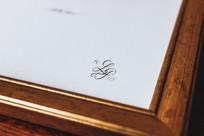 Affiche numérotée, signée et monogrammée