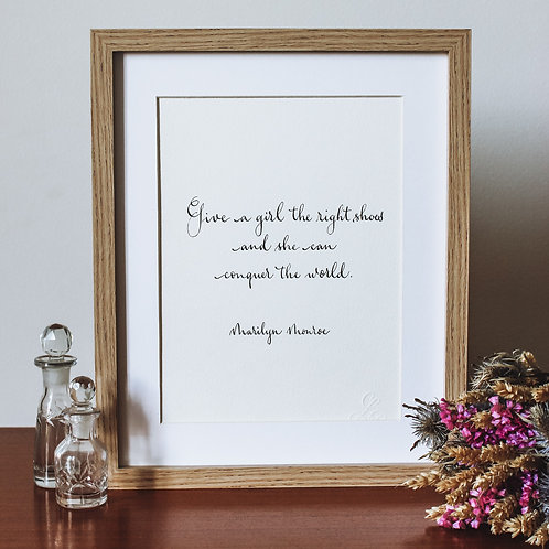 Conquer the world by Marilyn Monroe
