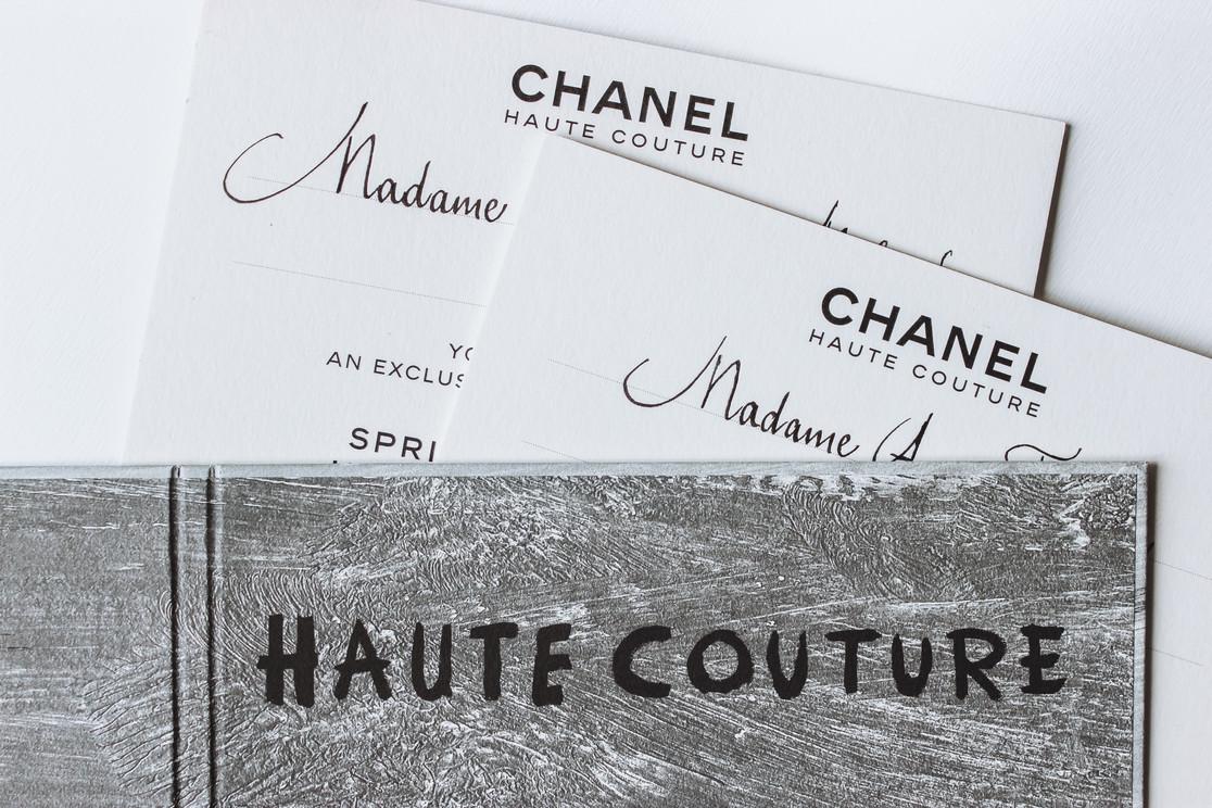 Défilé Chanel Haute Couture SS21