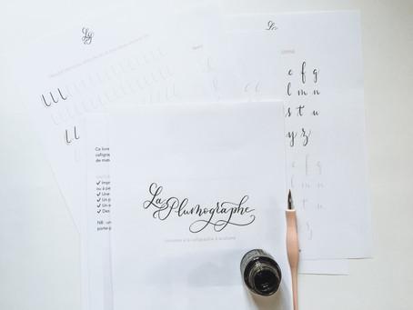 Débuter la calligraphie à la plume