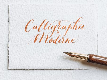 La calligraphie moderne décoiffe les traditions