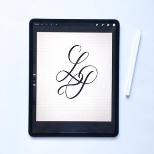 Création monogramme