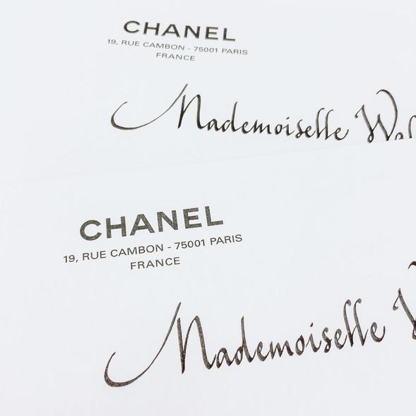 Déjeuner Chanel Haute Couture