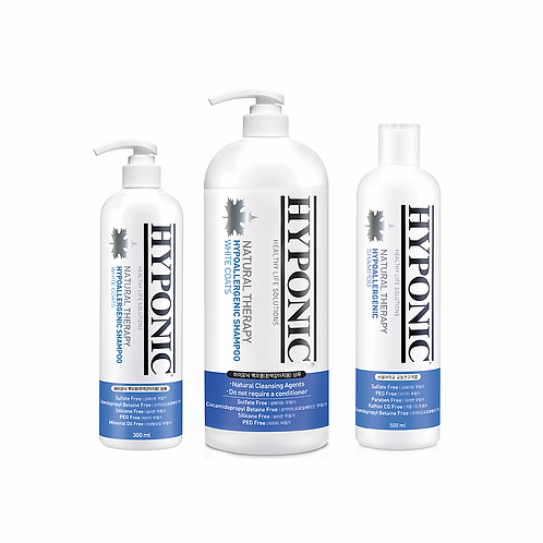 HYPONIC 極致低敏深層潔淨護膚沖涼液 Hypoallergenic Shampoo (For White Coats)