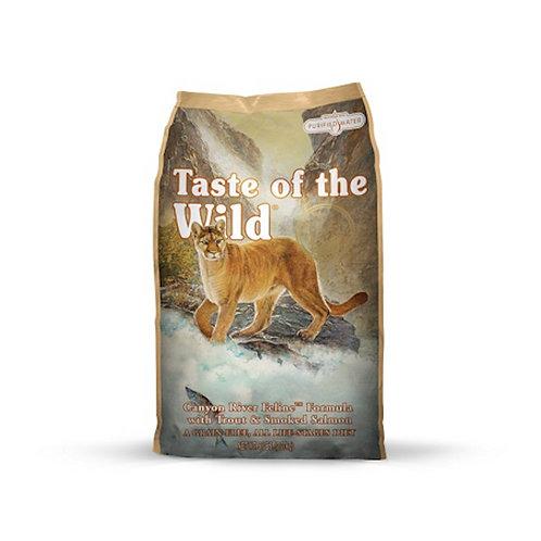 美國 無穀物鱒魚+煙燻三文魚配方 全貓 2/7kg