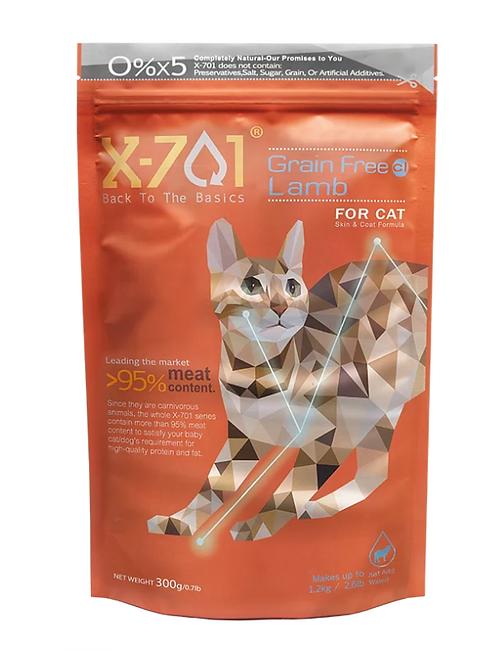 台灣天然凍乾鮮食 皮膚基礎護理 無穀羊肉 成貓 300g