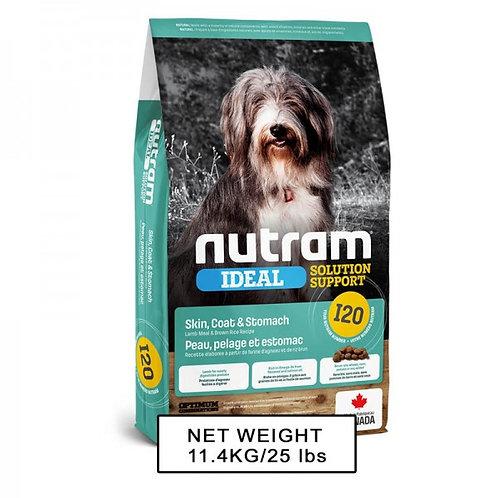 NUTRAM紐頓 NT-I20 敏感腸胃、皮膚狗糧 2kg/11.4kg