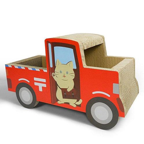 貓抓貨車 (紅色)