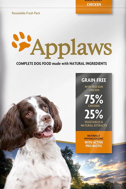 Applaws無穀物成犬雞肉配方 2kg