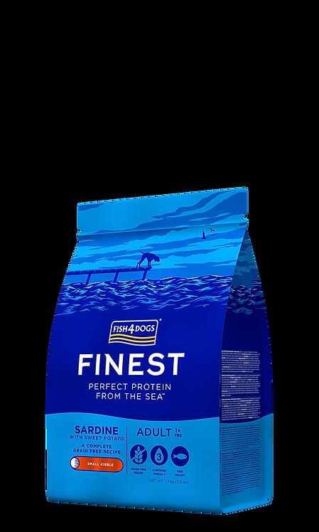 Fish4Dogs Finest 沙甸魚成犬配方(細粒) 1.5kg/6kg/12kg