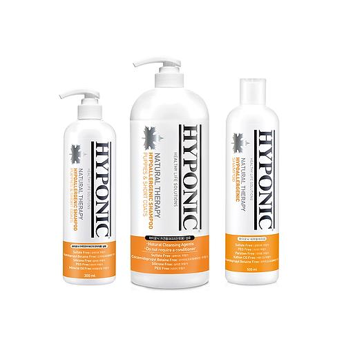HYPONIC 極致低敏高保濕強化呵護沖涼液 Hypoallergenic Shampoo (For Puppy & Short Coats)