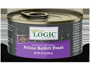 Nature's Logic 兔肉 全貓主食罐 156g