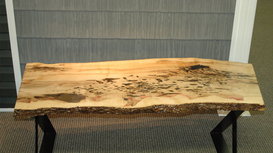 Boxed Elder Coffee Table