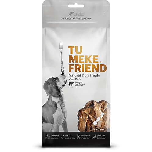 TuMeke Friend 圖米其 Veal Ribs 高級狗小食(小牛肋骨)