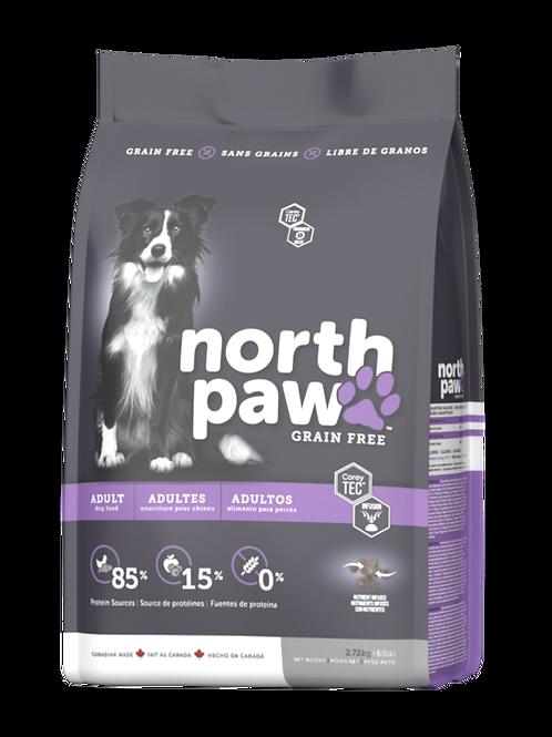 North Paw 無穀物 雞肉、鯡魚 成犬配方 2.72kg