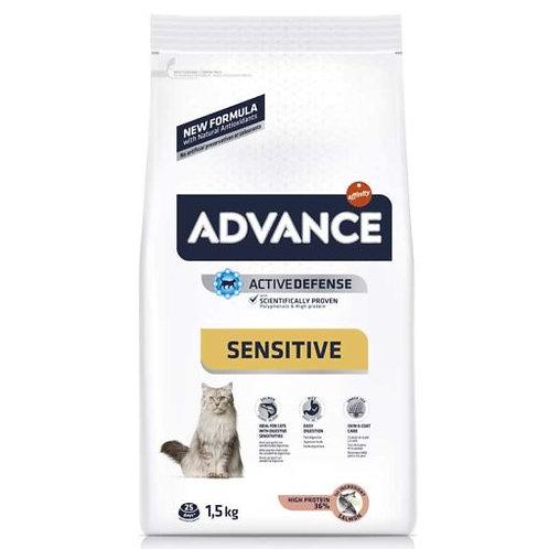 ADVANCE特殊護理成貓糧 – 三文魚/過敏護理 1.5KG