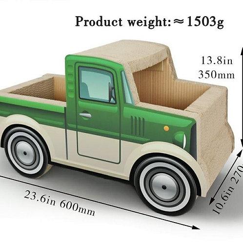 貓抓貨車 (綠色)