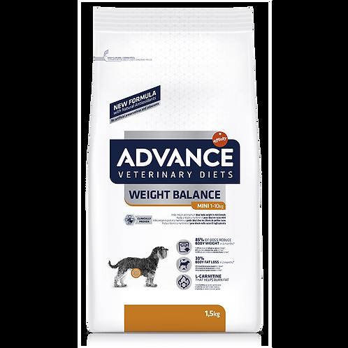 ADVANCE處方狗糧 – 減肥專用(體重1-10kg小型犬種)1.5KG