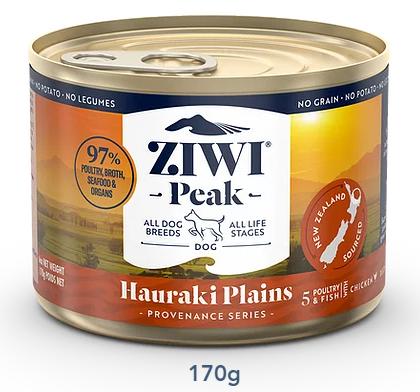 ZIWI Peak 無穀物 豪拉基平原配方 狗罐頭 170g