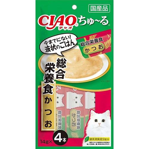 CIAO 鰹魚醬 綜合營養食(14g x4)