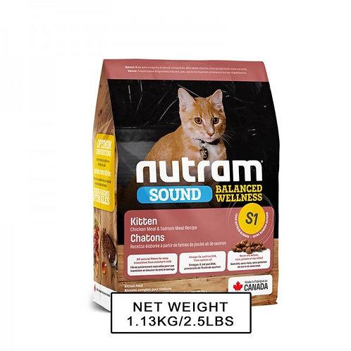 NUTRAM紐頓 NT-S1 幼貓配方貓糧 1.13kg