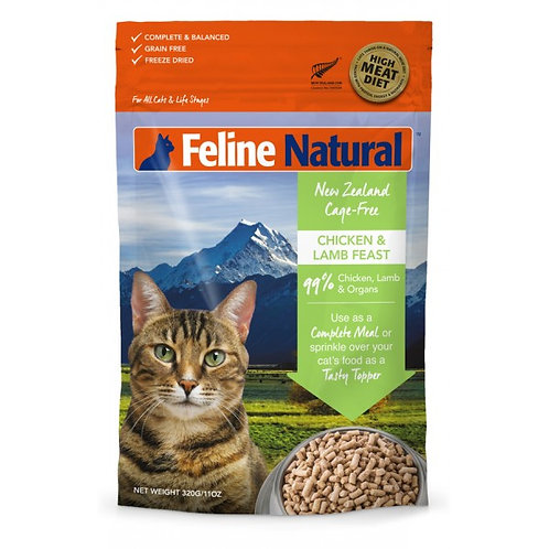 Feline Natural  雞肉羊肉盛宴 320g