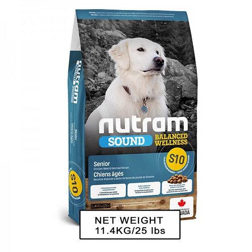 NUTRAM紐頓 NT-S10 老犬配方狗糧 2kg/11.4kg
