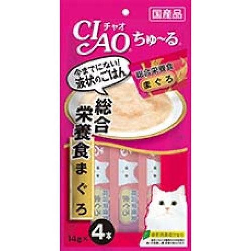 CIAO 綜合營養食 吞拿魚醬(14g x4)