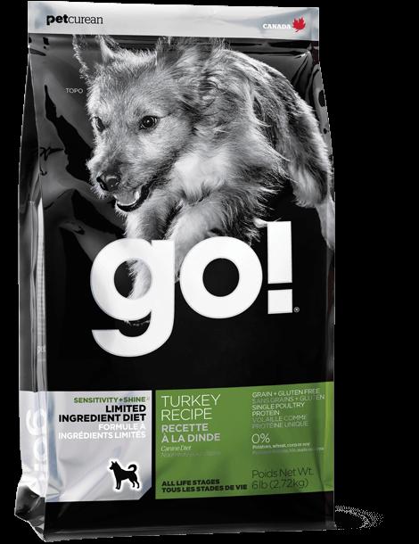 GO! 抗敏美毛系列 限定食材 火雞狗糧配方 3.5lb