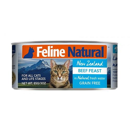 Feline Natural 牛肉盛宴 85g/170g