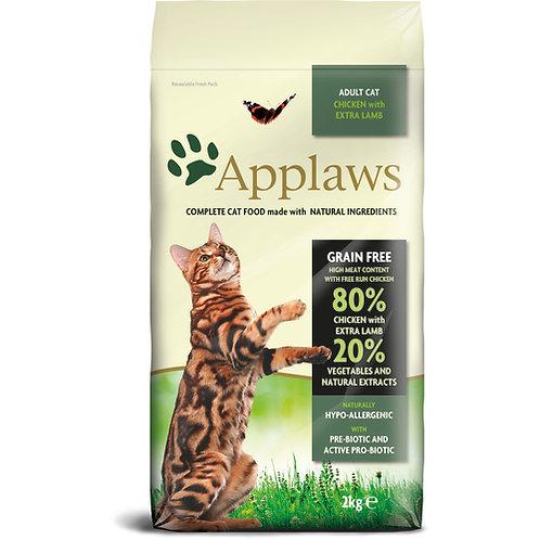 Applaws無穀物成貓雞肉羊肉配方 2kg/ 7.5kg