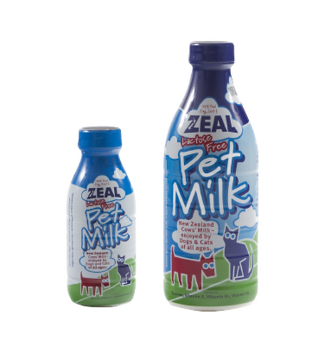 ZEAL 100% 紐西蘭 全脂牛奶 不含乳糖 貓狗適用 380ML/1L