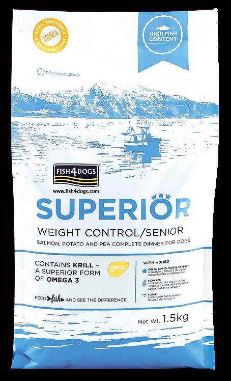 FISH4DOGS SUPERIOR 老年/體重控制配方(大粒) 1.5kg/12kg