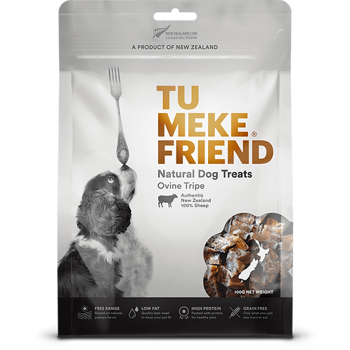 TuMeke Friend 圖米其 Ovine Tripe 高級狗小食(羊肚)