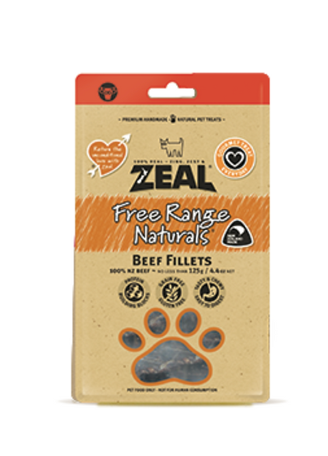 Zeal 紐西蘭天然牛肉乾 125g
