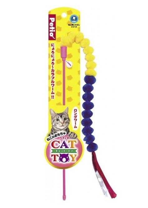 長蠕虫逗貓棒 全貓種