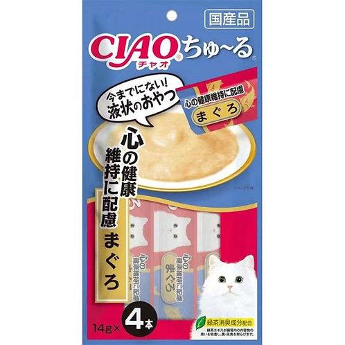 CIAO 吞拿魚醬- 心之健康維持 (14g x4)