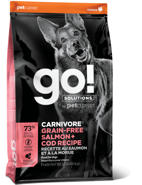 GO! SOLUTIONS 活力營養系列無穀物三文魚+鱈魚狗糧配方 12lb