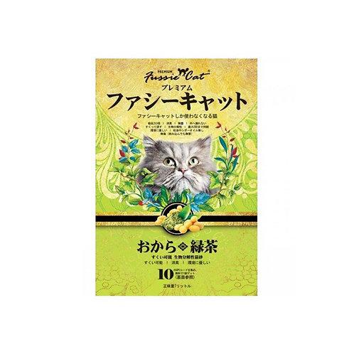 Fussie Cat 高竇貓 – 綠茶味豆腐砂 7L