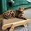 Thumbnail: 一次滿足四個願望! 實木可替換貓抓板