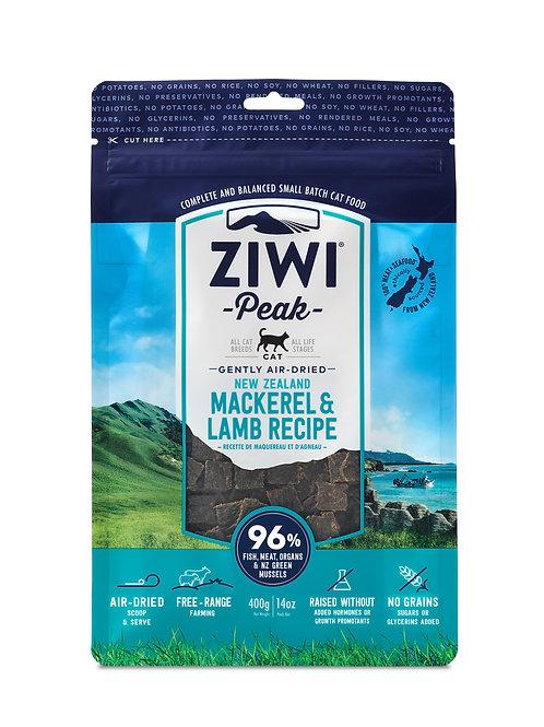 紐西蘭 無穀物 風乾鯖魚+羊肉配方 400g/ 1kg