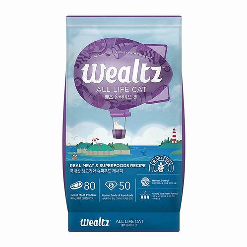 Wealtz 雞肉、超級食物 - 全貓配方 1.2kg