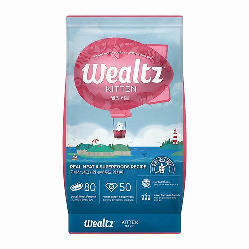 Wealtz 鮮雞肉、超級食物 - 幼貓配方 1.2kg