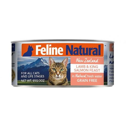 Feline Natural 羊肉及三文魚 85g/170g