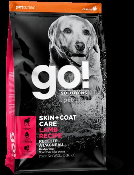 GO! SOLUTIONS 護膚美毛系列 羊肉狗糧配方 3.5lb