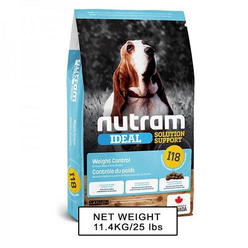 NUTRAM紐頓 NT-I18 控制體重配方狗糧 2kg/11.4kg