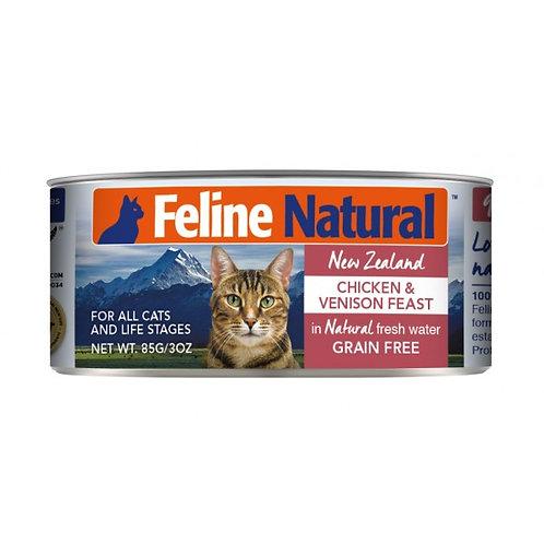 Feline Natural 雞肉及鹿肝 85g/170g